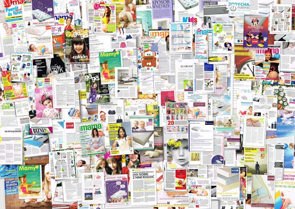 gazety z poprzednich lat, które napisały o nas