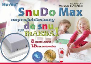 HEVEA Snudo Max zaprojektowany do snu na maksa