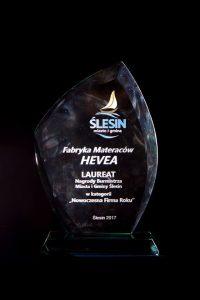 Nagroda Burmistrza Miasta i Gminy Ślesin w kategorii Nowoczesna Firma Roku - Ślesin 2017