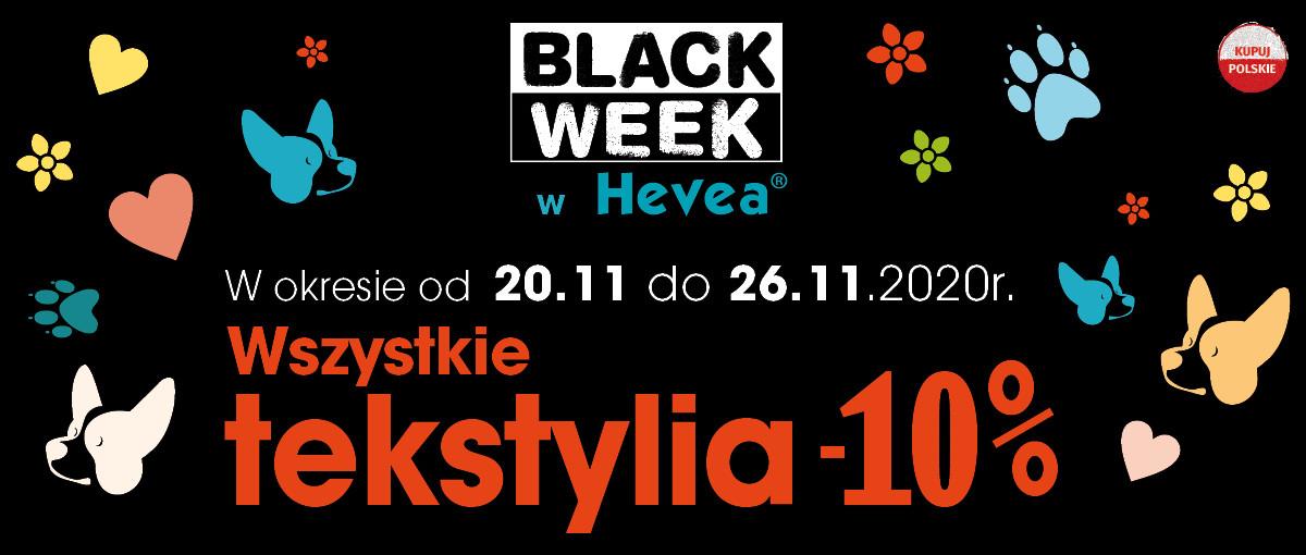 BlackWeek z Hevea